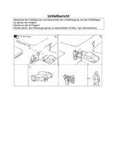 Unfall an einer Kreuzung
