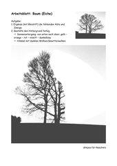 Arbeitsblatt Baum