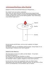 Lichtmeditation: Die Fackel