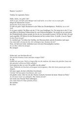 Übersetzung zum Lektionswortschatz der Lektionen 5 und 4
