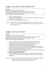 7 Gruppenarbeiten zum Thema Lurche