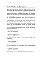 Entwurf zur Erarbeitung des Graphems M in Stationenarbeit