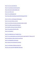Word-Datei mit vielen Hyperlinks für Italienisch