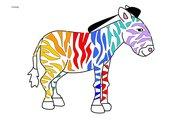 Das bunte Zebra