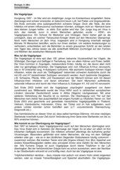 Infoblatt zur Vogelgrippe