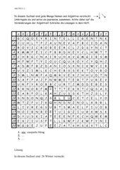Suchsel zu Tous ensemble 2, Lektion 3 (Kl. 7, 2. Lernjahr)
