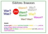 Satzglieder - Sätze bauen