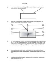 Hü/ Test/ Kurzkontrolle Optik