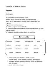 Diktat + Übung Klasse 3