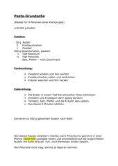Pasta-Grundsoße (veg.)