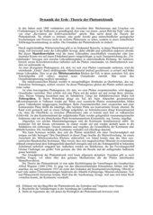 Plattentektonik - Text über Theorie und Auswirkung