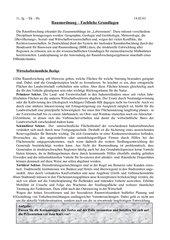 Fachliche Grundlagen der Raumordnung II