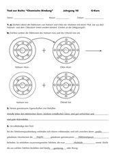 Lernzielkontrolle: Chemische Bindung
