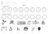 Test Uhrzeit Klasse 2