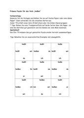 Präsens Puzzle