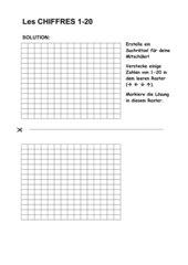 Découvertes (neu), Lecon 1 - Zahlenrätsel für die Mitschüler erstellen