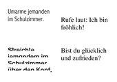 Witzige Lesekarten / Aufträge