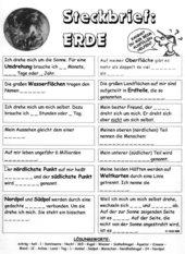 Steckbrief ERDE