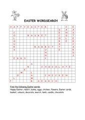 Easter Wordsearch