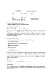 Stundenentwurf: Mehrstufige Zufallsexperimente