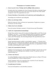 Informationsblatt Sachtextanalyse