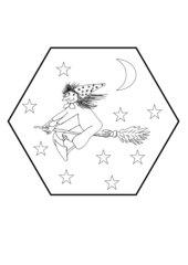 Mandala  -  Die kleine Hexe