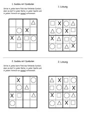 Sudoku mit Symbolen