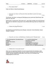 Test Güter und Bedürfnisse in 7