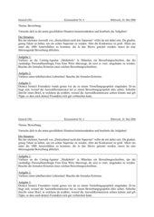 Klassenarbeit: Bewerbungsschreiben, Lebenslauf, Vorstellungsgespräch
