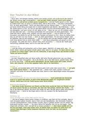 Der Teufel in der Bibel / Religion 9