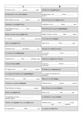 Découvertes (neu), Band 1, Lecon 7: Tandembogen Adjektive
