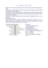 12 de octubre - La Fiesta del Pilar - Lösung!