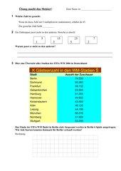 Weiterer Aufgaben-Mix für den Matheunterricht
