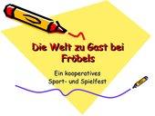Kooperativers Sport und Spielfest