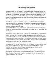 Paschafest - Auszug aus Ägypten - Judentum