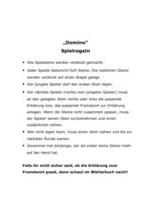 Wörterbucharbeit an Stationen