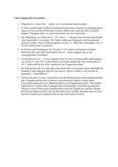 Regeln zur Leerzeichensetzung