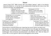 Analyse der Ballade Belsazar