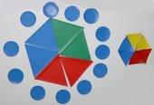 Bilder-Kartei - Muster aus Grundformen legen