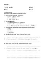 Arbeit GL- Steinzeit (1)