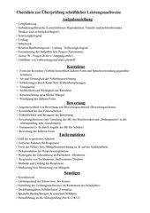 Checkliste_ Schriftliche Leistungsnachweise_ Bayern_ Gymnasium