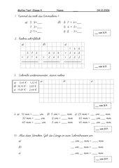 Mathekurztest