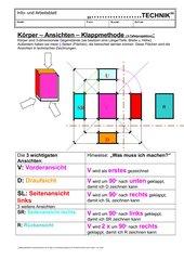 Ansichten-3-Tafelprojektion
