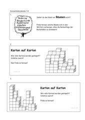 Konzentrationskartei 1-6 überarbeitet