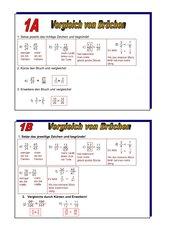 Addition und Subtraktion und Vergleichen von Bruechen[1]
