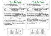 Test the Best!