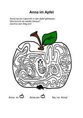 Anna im Apfel