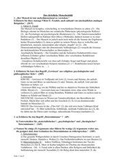 Klausuren 12. JGSt  - Fragmente