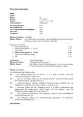 Unterrichtsentwurf Festigung der Teilbarkeitsregeln 3, 9