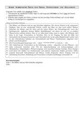 Test zur Fotosynthese / Zellatmung Klasse 8 mit Lösung